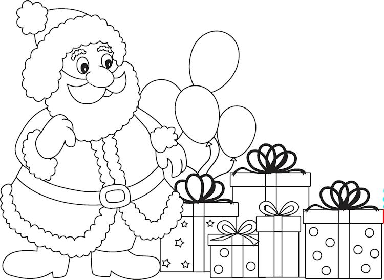 Kleurplaten Kerst Pdf.Kerstfun Voor Kinderen Kerst Kleurplaten